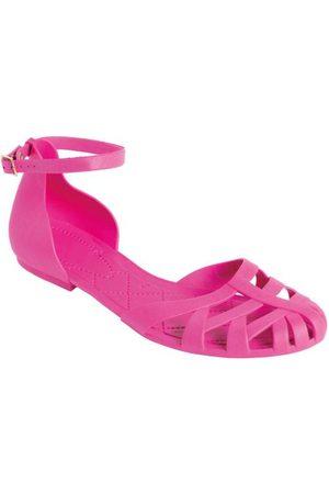 QUEIMA ESTOQUE Rasteirinha Pink Full Plastic