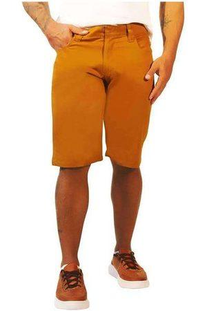 Sandro Moscoloni Homem Bermuda - Bermuda Jeans Masculina Basic Mar