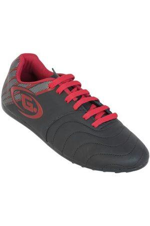 QUEIMA ESTOQUE Homem Sapatos Esporte - Chuteira Indoor Preta com Vermelho