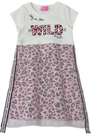Momi Menina Vestido Estampado - Vestido Animal Print