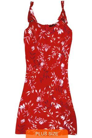 Wee Malwee Vestido Curto Floral com Amarração