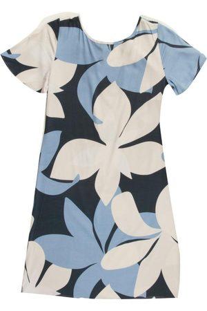 Habana Mulher Vestido Estampado - Vestido Adulto com Estampa Floral