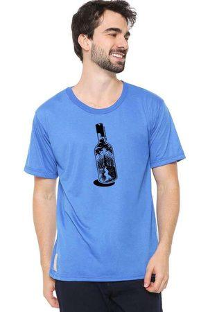Eco Canyon Camiseta Masculina Garrafa Blue