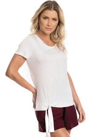 Cativa Blusa Básica com Amarração
