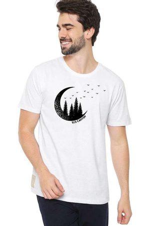 Eco Canyon Camiseta Masculina Lua Branca White