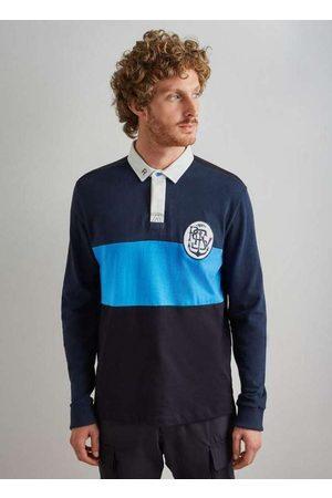 Reserva Homem Camisa Formal - Polo Rugby Recorte Ml