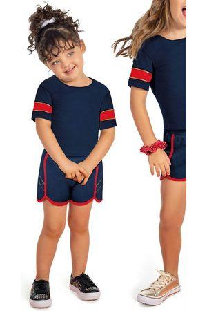 Cativa Kids Menina Short - Conjunto Blusa e Short