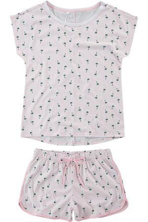 MALWEE LIBERTA Mulher Pijamas - Pijama Coqueiros em Malha