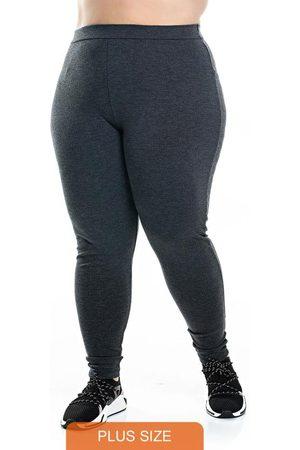 Miss Masy Plus Mulher Calça Legging - Calça Legging Ponto Roma