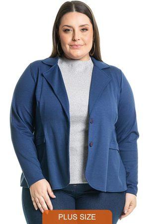 Miss Masy Plus Blazer Clássico