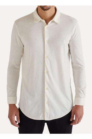 Reserva Homem Camisa Casual - Camisa Ml Malha Linho