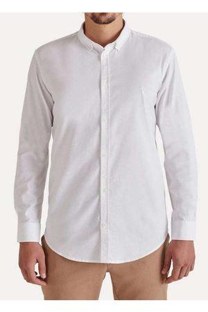 Reserva Homem Camisa Casual - Camisa Oxford com Elastano