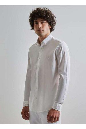 Reserva Homem Camisa Casual - Camisa Pf Tec Regular Lago