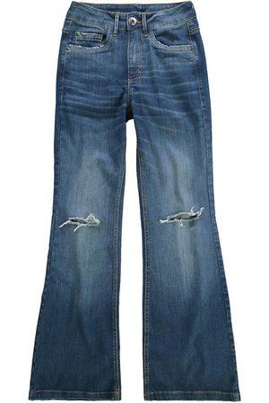 Malwee Calça Escuro Small Flare Flex Jeans
