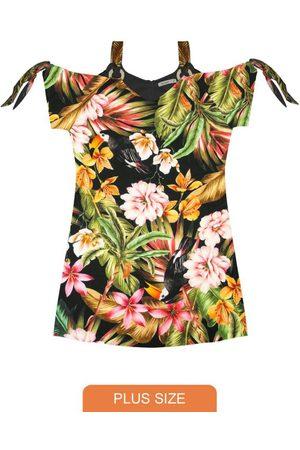 Secret Glam Vestido Plus Size Estampado