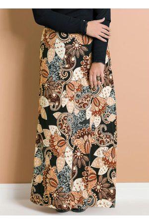 Marguerite Saia Longa Cashmere Plus Size