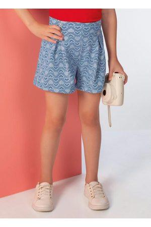 Cativa Shorts em Tecido Estampado