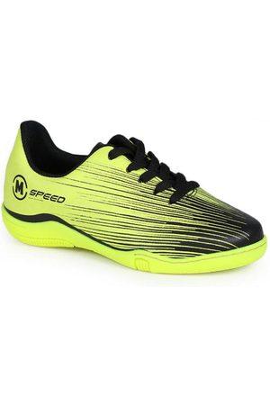 Molekinho Menino Sapatos Esporte - Chuteira Futsal Infantil Estampa