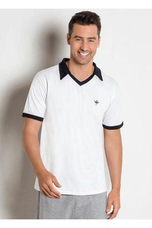 QUEIMA ESTOQUE Camisa Polo Wallace Branca