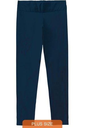 Malwee Plus Calça Legging Escuro Cotton Conforto