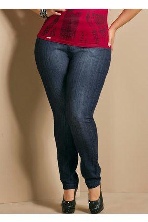 QUINTESS Mulher Calça Skinny - Calça Jeans Skinny Plus Size