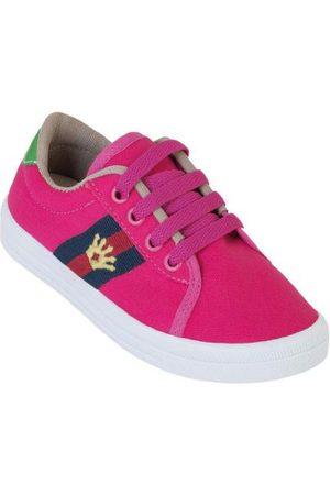 QUEIMA ESTOQUE Tênis Infantil Pink com Bordado Coroa