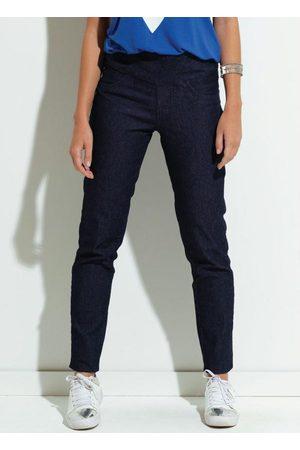 QUEIMA ESTOQUE Calça Jeans Quintess Justa com Cós