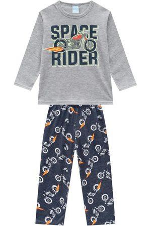 KYLY Menino Pijamas - Pijama Infantil Masculino Mescla