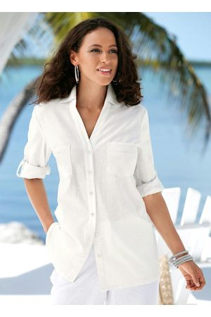 QUEIMA ESTOQUE Camisa de Linho Off White