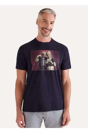Reserva Camiseta Estampada Rock Desde Sempre Vj Az