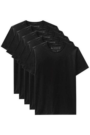 Basicamente Kit de 5 Camisetas Básicas