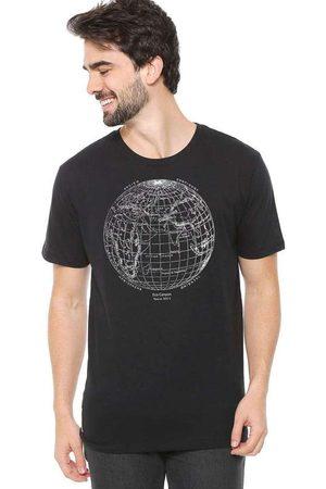 Eco Canyon Camiseta de Algodão Masculina Mundi Pre