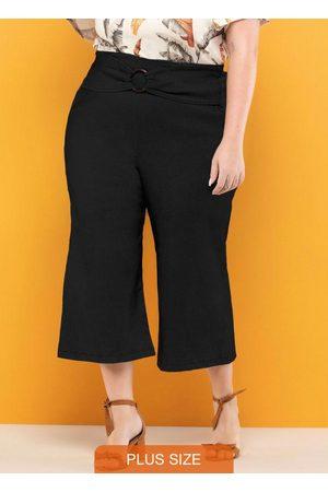 Vinculo Basic Mulher Cinto - Pantacourt Plus Size com Faixa Cintura