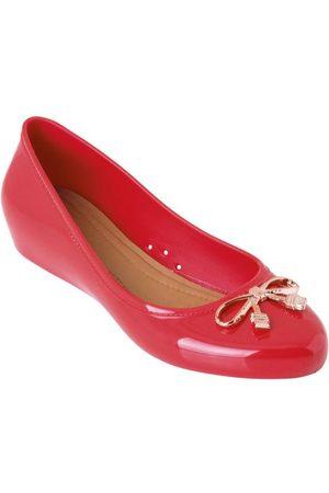Perfecta Mulher Sapatilhas - Sapatilha Vermelha com Salto