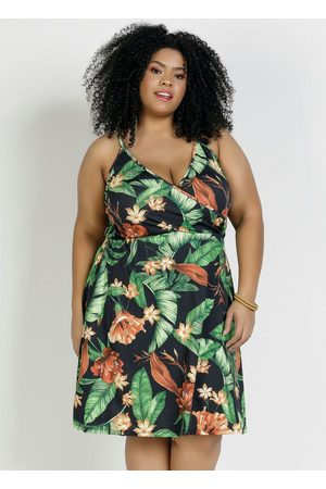Marguerite Vestido Floral Plus Size