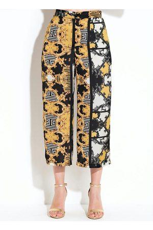 QUINTESS Calça Pantalona Barroca