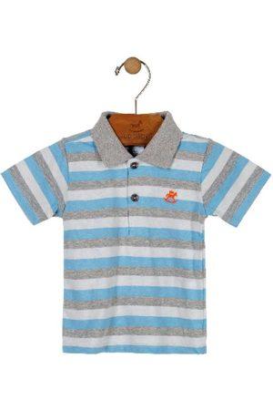 Up Baby Camisa Polo Listrada Claro