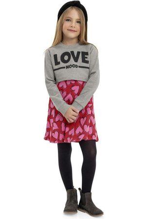 Quimby Menina Conjuntos - Conjunto Vestido e Blusa