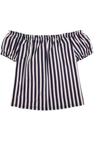 Malwee Mulher Blusa - Blusa Ciganinha Estampada