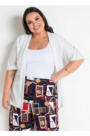 Marguerite Mulher Quimono - Kimono com Fios Metalizados Plus Size