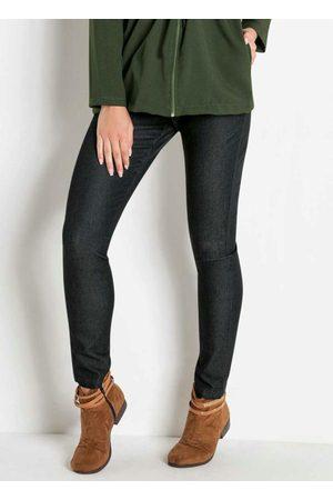Janine Calça Jeans Escuro Cintura Alta
