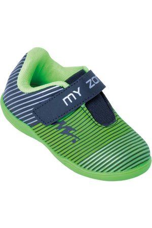 QUEIMA ESTOQUE Menino Sapatos Esporte - Chuteira Infantil com Velcro