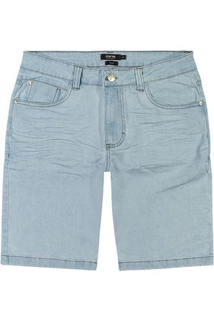 ENFIM Homem Bermuda - Bermuda Claro Slim Jeans Stretch