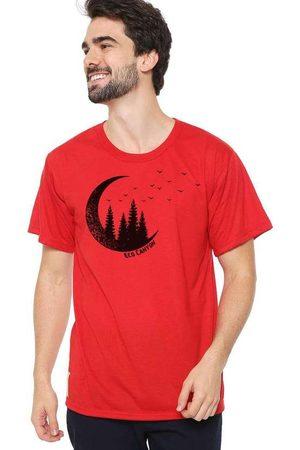 Eco Canyon Camiseta Masculina Lua Vermelha Red
