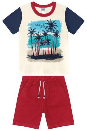 Rovitex Kids Conjunto Camiseta com Bermuda Infantil