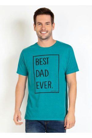 Actual Homem Manga Curta - Camiseta Best Dad