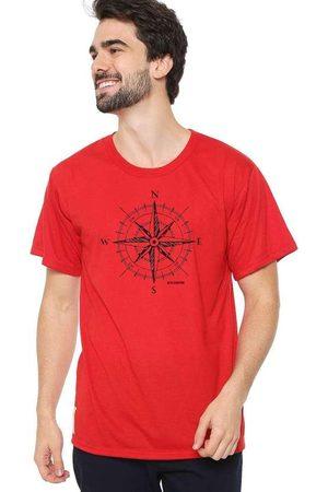 Eco Canyon Camiseta Masculina Rosa dos Ventos Verm