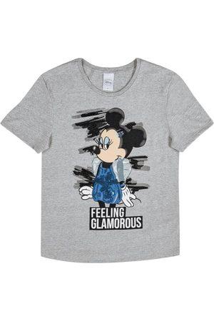 Disney Blusa Estampada com Bordado