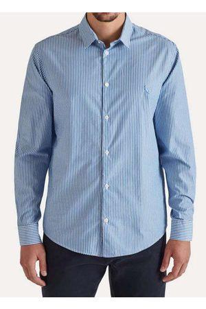 Reserva Homem Camisa Casual - Camisa Ml Listra Trabalho