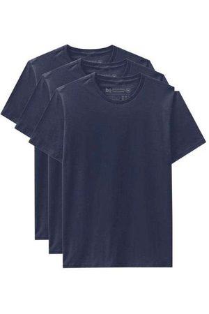 Basicamente Kit de 3 Camisetas Básicas